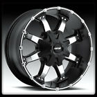 "17"" MKW M83 BLACK MACHINED RIMS & TOYO 35X12.50X17 OPEN COUNTRY AT2 TIRES WHEELS"