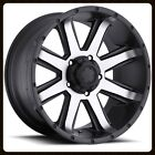 "18"" ULTRA 195U CRUSHER RIMS & MICKEY THOMPSON LT305-60-18 BAJA MTZ TIRES WHEELS"