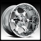 """20"""" FUEL OFFROAD DUNE CHROME WHEEL RIMS & TOYO LT315-60-20 OPEN COUNTRY MT TIRES"""