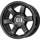 17x9 Black Level 8 MK 6 6x5.5 -12 Wheels Nitto Trail Grappler 35x12.50R17LT