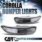 1993-1997 TOYOTA COROLLA JDM CLEAR BUMPER LIGHTS SIGNAL LAMP