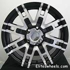 20x9 Black Helo HE835 5x5.5 +18 Rims Nitto Terra Grappler 305/50R20 Tires