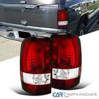 2000-2006 Chevy Tahoe Suburban GMC Yukon Denali Tail Lights Rear Brake Lamps Red