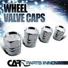 4PC Car Truck Wheel Tire Tyre Air Dust Valve Stem Caps Covers Chrome