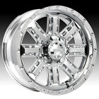 "22"" GEAR ALLOY NITRO CHROME WITH 33X12.50X22 TOYO OPEN COUNTRY MT WHEELS RIMS"