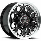 17x8.5 Black American Outlaw Patrol 6x135 +10 Rims Open Country AT II