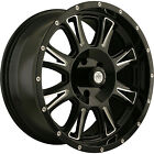 18x9 Black Mayhem Hammer  6x135 +18 Wheels Nitto Trail Grappler 275/70/18 Tires