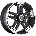 20x9 Black V-Tec Warlord  8x170 +18 Wheels Nitto Mud Grappler 37x13.50R20LT