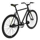 Road Bike ORIGINAL Bicycle 54cm Black CREATE Fixie Light Aluminum Frame Pro