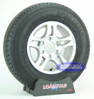 """(2)- Boat Trailer Tires ST 225/75R15 with 15"""" Aluminum Wheel 6 on 5 1/2"""" Bolt"""