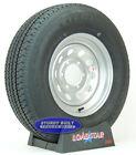 """Boat Trailer Tire by LoadStar ST 225/75R15 Silver Mod Wheel 15"""" Rim 6 Bolt LRD"""