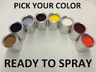PICK YOUR COLOR - 1 PINT CLEAR COAT + 1 PINT PAINT for HONDA CAR TRUCK SUV