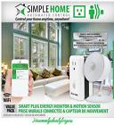 NEW SIMPLE HOME APPLIANCE SMART PLUG ENERGY MONITOR & MOTION SENSOR WiFi VALUE