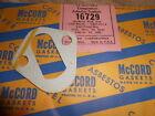 NOS McCord USA Made Gasket Fuel Pump 59-62 Ford Mercury V8 1963 Lincoln 16729