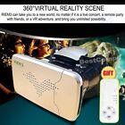 New 3D Virtual Reality VR Box IMAX Video Glasses + Wireless Remote Controller