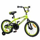Tauki Kid Bike BMX Bike for Boys and Girls, 12 Inch, Lime, 95% assembled, for