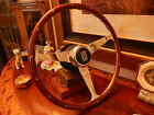 Rolls Royce Corniche Wood Steering Wheel NARDI NOS NEW