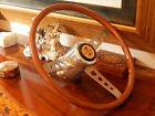 68 69 SHELBY COBRA GT350 GT500    F.I.V.  real Wood Steering Wheel   NOS