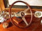 """Porsche Wood Steering Wheel 928 4S  Original  15""""  NOS New"""