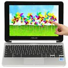 "Asus Flip 2-in-1 Touch 10.1"" Quad Core 1.8GHz 2GB RAM 16GB SSD Chromebook LN"