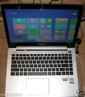 """ASUS S400CA-SI30305S ULTRABOOK LAPTOP INTEL i3 14"""" TOUCH LCD 4GB 500GB, OFFER!"""