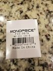 New in box, Monoprice 9876 Compact Cube Universal Travel Adaptor - Black