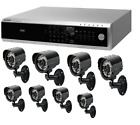 Samsung 8 Channel DVR with 8 Camera Package 250GB