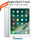 "APPLE iPAD 32GB Wi-Fi & CELLULAR MP1L2X/A (2017) SILVER  AUSSIE STOCKS ""AUSLUCK"""