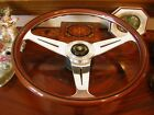 "Jaguar XJS Wood Steering Wheel to fit 1986 to 1989 15.3"" New NOS"