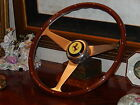 Ferrari 308 GTS Steering Wheel Wood NARDI NEW Rare Model fit Original MOMO Hub