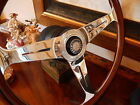 Mercedes Wood Steering Wheel 280 SL 1980 - 85 Hub Boss Horn Button assembly New