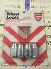 Vintage NEW ON-GUARD  Wheel Locks FOR VINTAGE AMERICAN CARS MADE IN USA #3-189