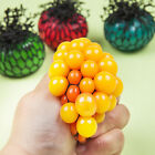 6cm Stress Squeeze Ball Hand Wrist Exercise Stress Grape Shape For Kids Adult TB