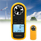 Digital LCD Anemometer/Thermometer Air Wind Speed Meter Tester Temperature Gauge