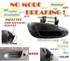 MotorKing Door Handle For NISSAN ALTIMA Outside Front Right Smooth Black DN10002
