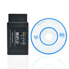Auto Car Fault OBD2 Diagnostic Tool Scanner Code Reader for iPhone Android Black