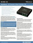 "CRESTRON DM-RMC-100 CAT RECEIVER ROOM CONTROLLER ""ALL"" TERMINALS"