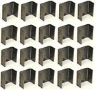 """20 - 2 x 4 Steel Weld On Trailer Truck Stake Pocket Board Holder 7 Gauge 3/16"""""""