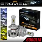 6000LM 9003 HB2 Headlamp Dual Beam Conversion Kit LED Bulb BroView M Series M5