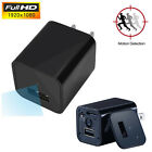 UX-8 HD 1080P Mini Spy Camera Adapter Plug Charger Motion Detection Security DVR