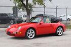 1995 Porsche 911  1995 Porsche 911 Carrera Convertible - Certificate of Authenticity