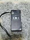 RARE Vintage SONY M-101B Micro Cassette Corder Hand Hold Metal Heavy Recorder