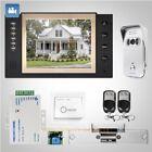 "HOMSECUR 8"" Wired Hands-free Video Door Entry Security Intercom+Silver Camera"