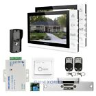 "HOMSECUR 9"" Wired Video&Audio Smart Doorbell+Ultra-large Screen Monitor 1C2M"