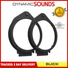CT25GM01 165mm Front/Rear Door Speaker Adaptors for Buick Regal 2011 Onwards