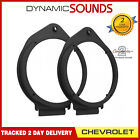 CT25GM01 165mm Front/Rear Door Speaker Adaptors for Chevrolet Cruze 2009-2015