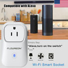 Smart WiFi Socket Plug Outlet Timer Switch Control Power Alexa APP&Voice Control