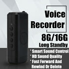 8/16GB Mini Digital Voice Recorder Dictaphone Listening Device Audio Activated
