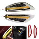 Universal yellow Blade Car Steering Light Auto Led Turn Signal Fender Light MT