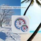 Plastic Indoor Outdoor -20~50℃ 0-100%RH Precision Pointer Hygrometer Thermometer